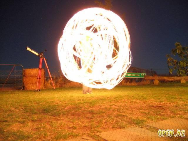 Как сделать огонь в небе 477
