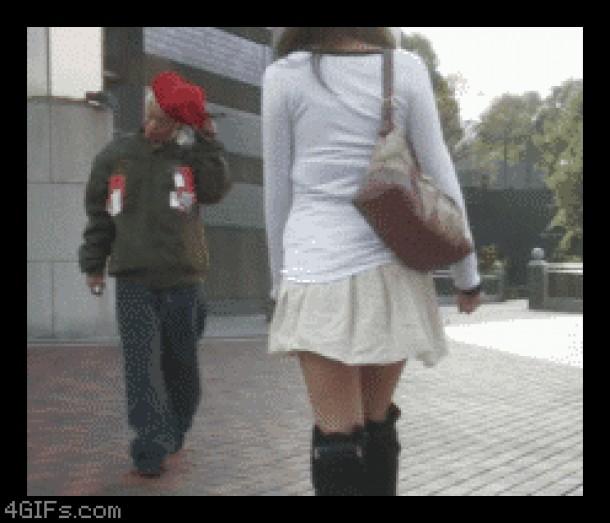 Что у девушек под юбкой.