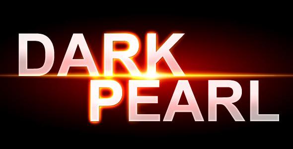ActiveDen - Dark Pearl XML Web Template - Rip