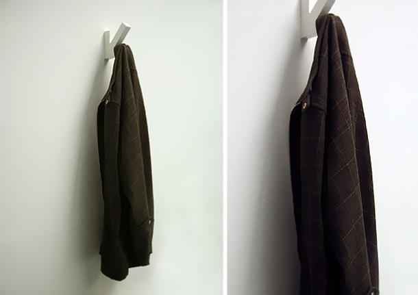 Как сделать вешалку  в куртку