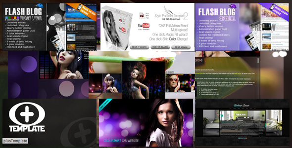 Original Flash Templates Pack 2