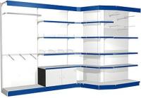 Различные схемы сборки торговых стеллажей, типоразмеры элементов и аксессуары позволяют максимально использовать...