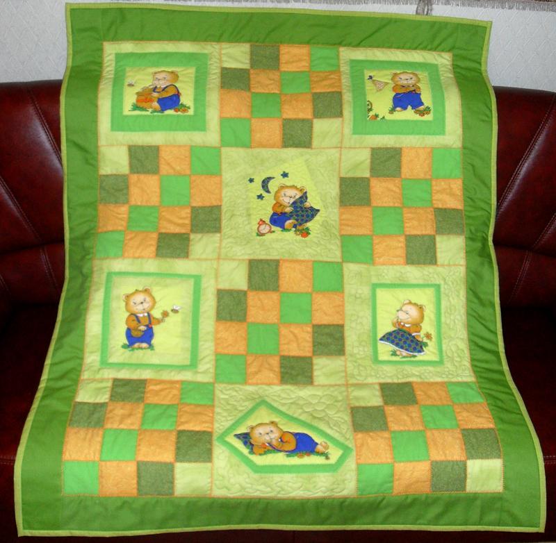 Пэчворк детские одеяла