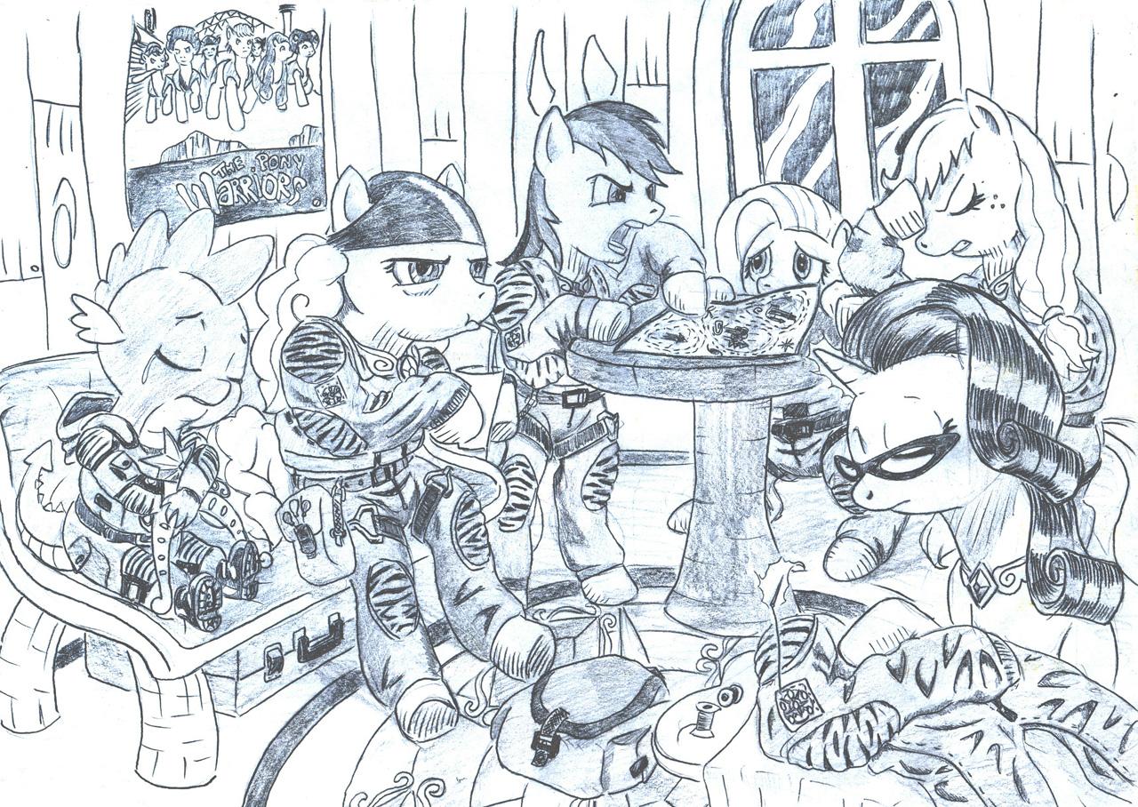 карандашные рисунки сталкер