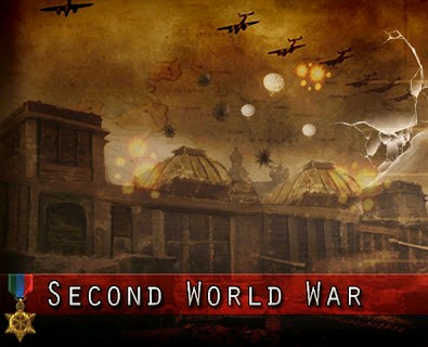 Screens Zimmer 4 angezeig: second world war games