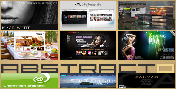 Original Flash Templates Pack 1