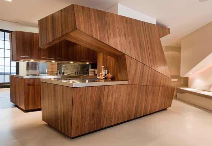 Необычные дизайны кухни