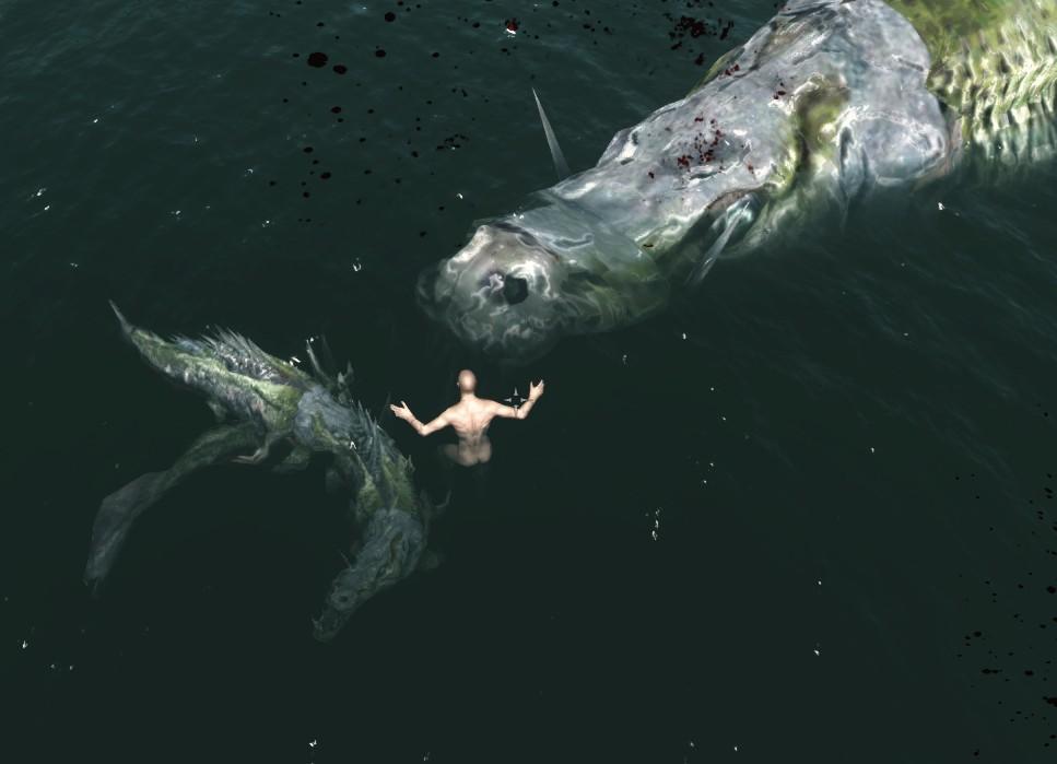 как в скайриме ловить рыбу без модов