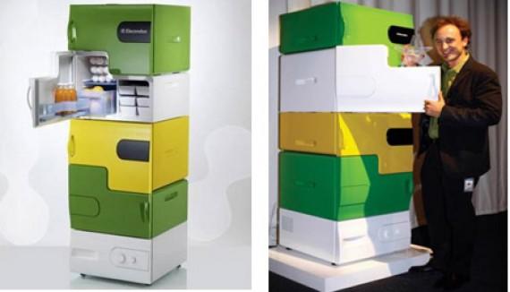 устройство холодильника состоящего из модулей