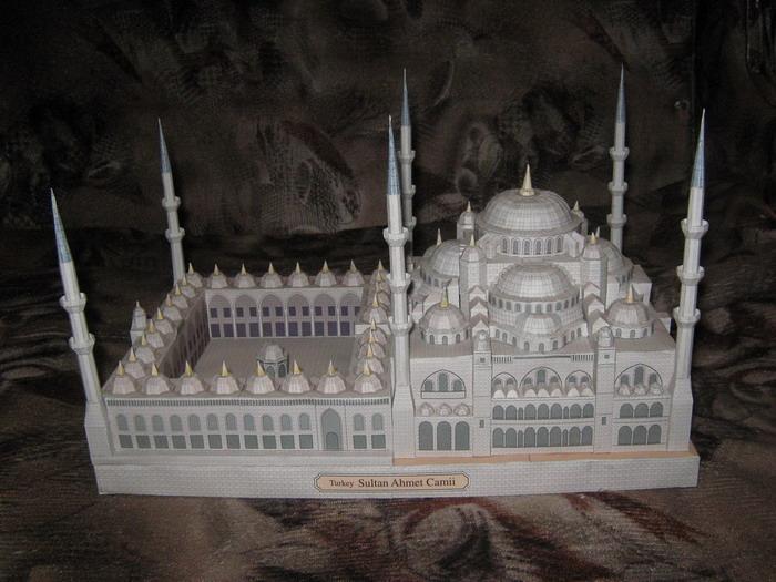 Мечеть из спичек своими руками 83
