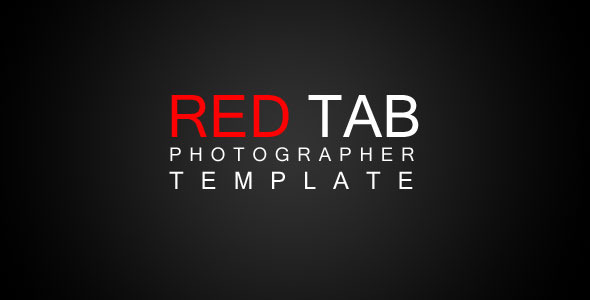 Activeden - Red Tab Photographer XML Template - Rip