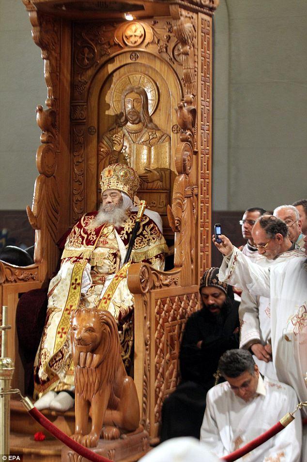 Упокой, Господи, душу усопшего раба Твоего Патриарха Коптской церкви Папу Шенуду