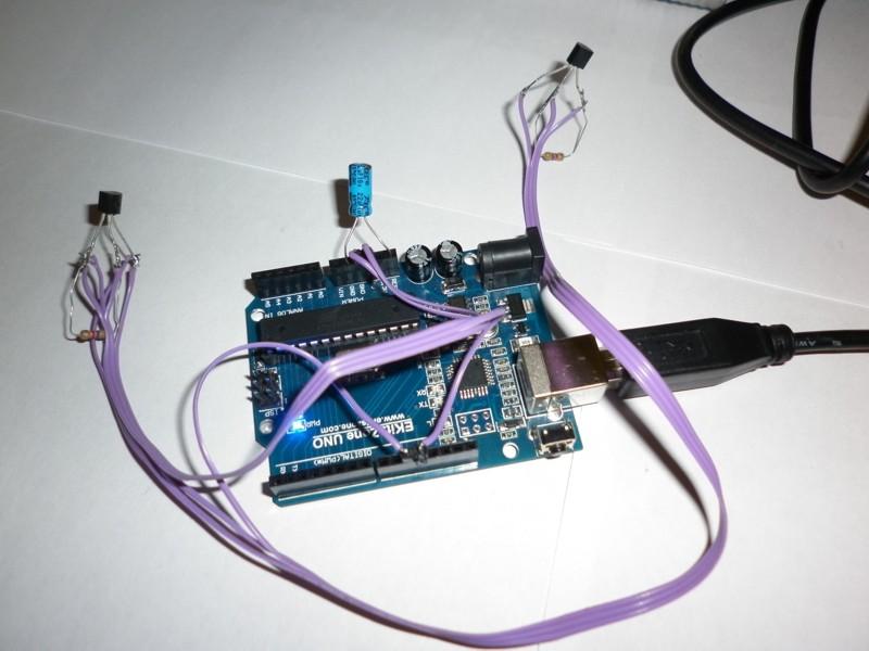 Zyxel Keenetic 4G, arduino и датчики температуры ds18b20