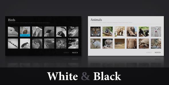 ActiveDen - XML Template V4 ( White & Black )  - Rip