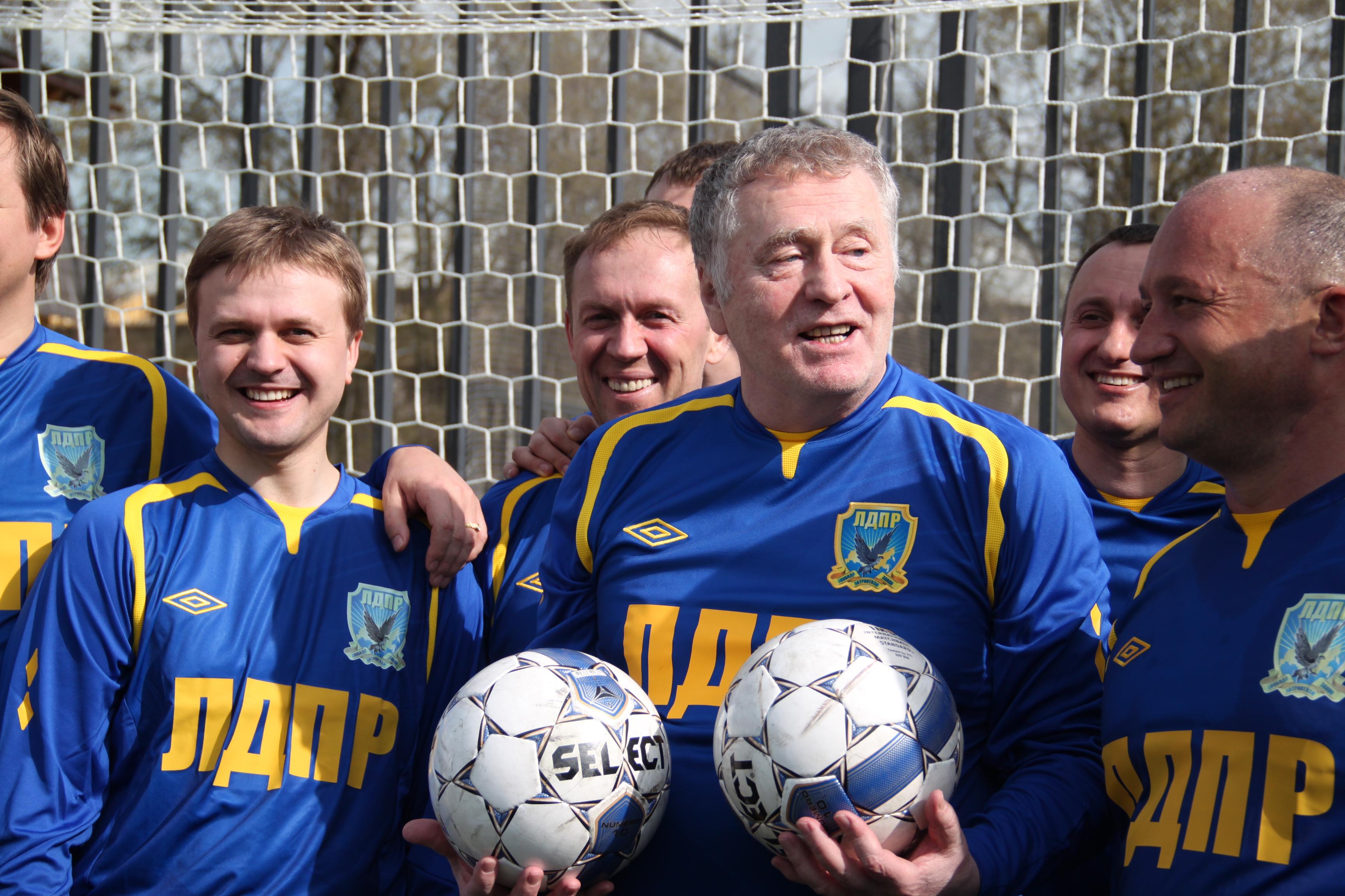 Жириновский и спорт фото 2