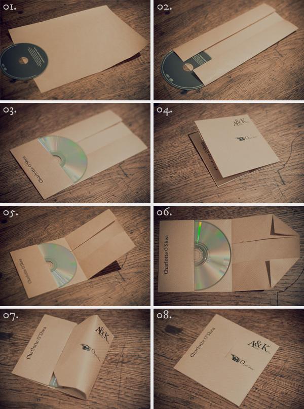 Упаковка для дисков из бумаги