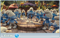 Смурфики / The Smurfs (2011) BDRip-AVC