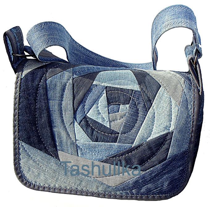 Посты по теме сумки своими руками, добавленные пользователем леся. . Сумки из джинсов (трафик) переделка джинсов