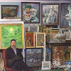 Русский художник Валентинъ Пашковъ