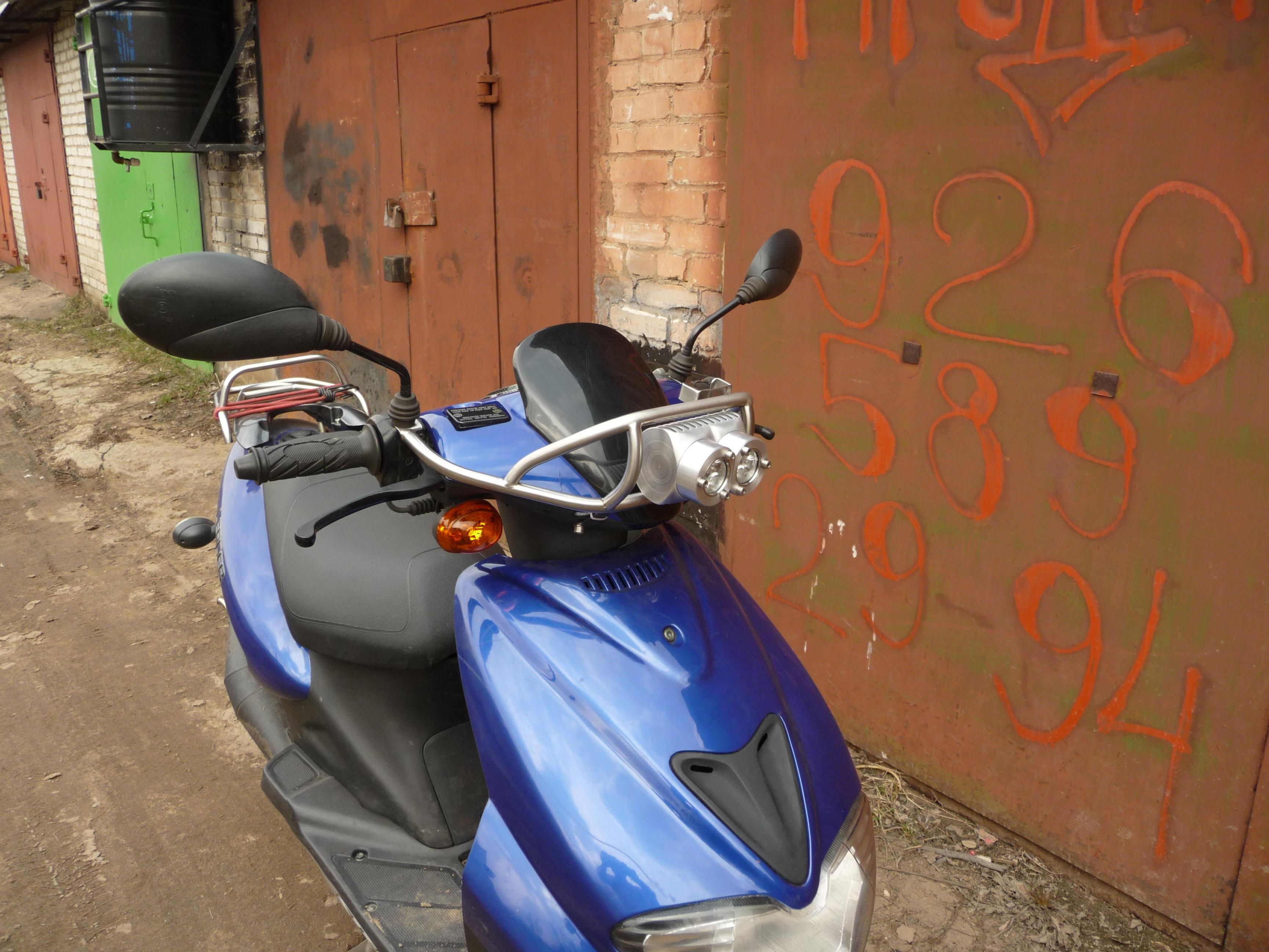 Замена штатного света на скутере DRIVE 2 29
