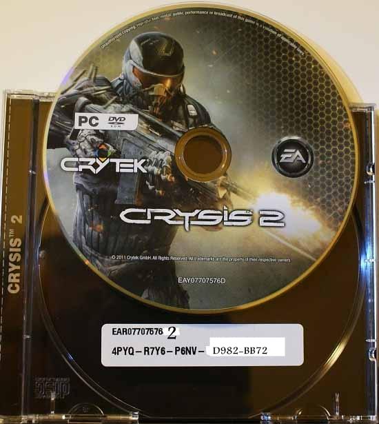 Свой Crysis 2 Серийный Номер игры в Лугано он приобрел лишь в начале 1997 C