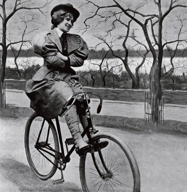 Правила езды на велосипеде для женщин