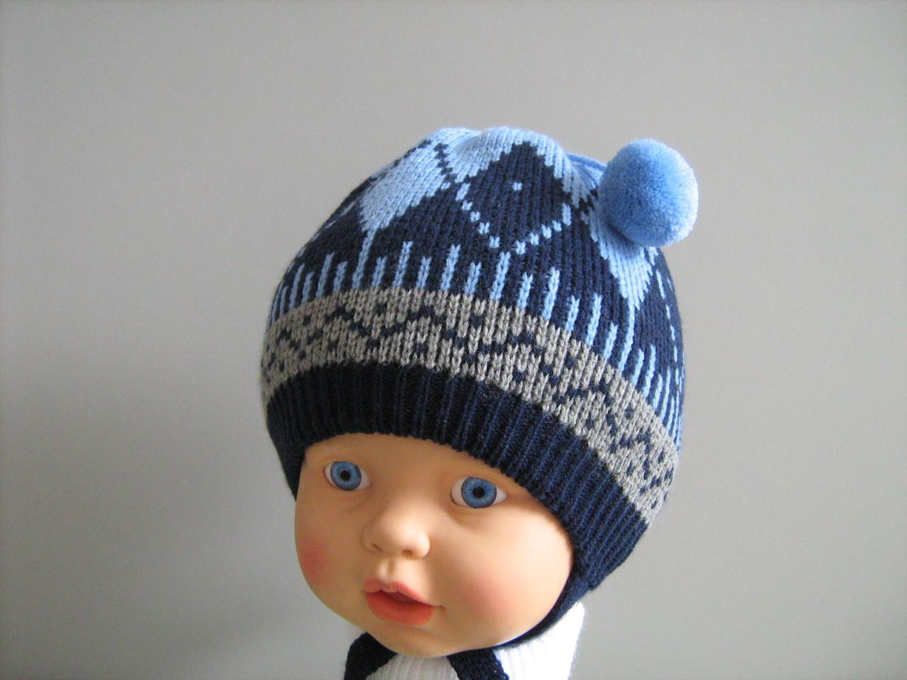 Детские шапочки, шарфики и береты спицами или крючком с 41