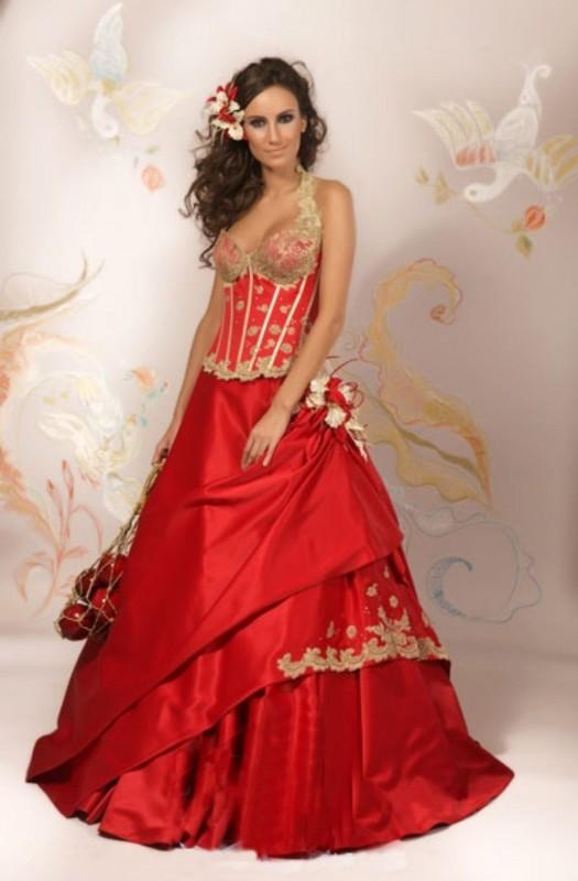 Самые ужасные свадебные платья 7