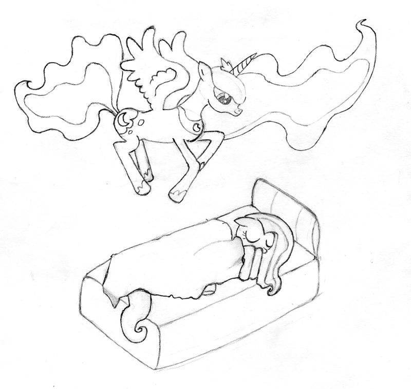 сонник рисовать карандашом: