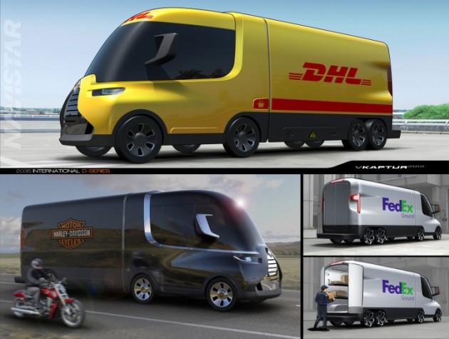 грузовики концепт кар