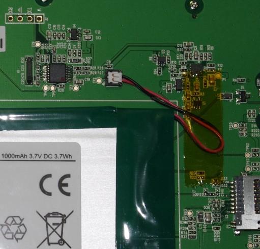Разборка ридера PocketBook 611 Basic-11