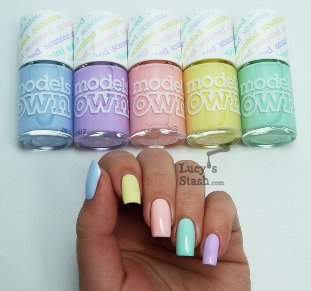 Пастельные оттенки лака для ногтей дизайн на короткие ногти