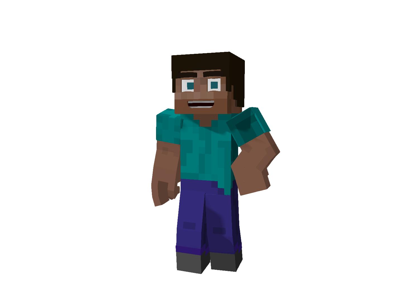 Minecraft logo render