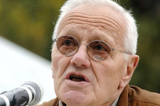 Der ehemalige präsident des verfassungsrates Pierre Mazeaud, hier im jahr 2007.