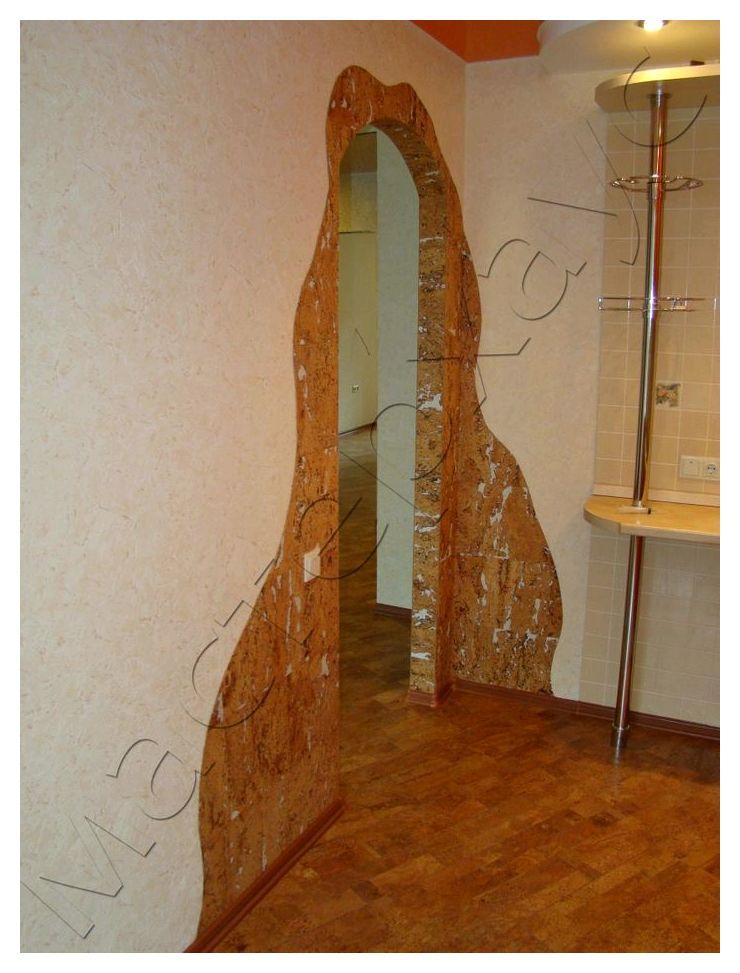Пробковые обои для стен рулонные и листовые: особенности, как клеить и ухаживать