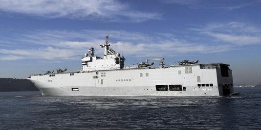 Frankreich setzte die auslieferung des ersten Mistral in Russland, dem 3. september.