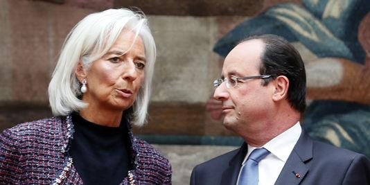 Der IWF (unter dem vorsitz von Christine Lagarde), wie der OECD oder der Rat der europäischen Union, überbieten sich gegenseitig mit vorschlägen zur reform Frankreich.
