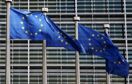 der sitz der eu-Kommission in Brüssel.