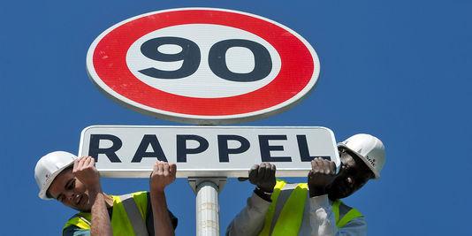 Die geschwindigkeitsbegrenzung auf 80 km/h statt 90 km/h könnte sparen sie bis zu 400 menschenleben jedes jahr.