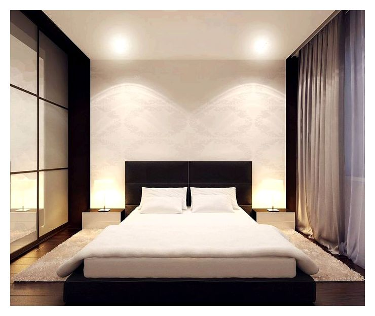 Как оформить современную спальную комнату?