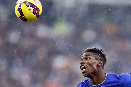 Paul Pogba, in den farben von Juventus Turin, dem 9. november.