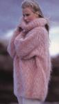 Короткая вязаня кофточка с ажурной каймой из мохера отлично.  Красивая вязаная кофта из мохера - Глобальный Конфликт.