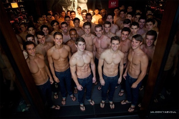 Abercrombie's Holiday Sex Club is Perky and Waiting for You.