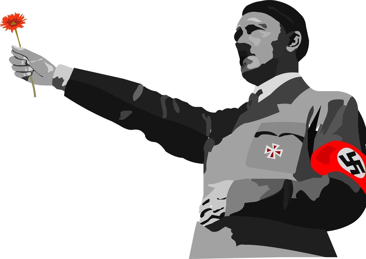 Гитлер открытка