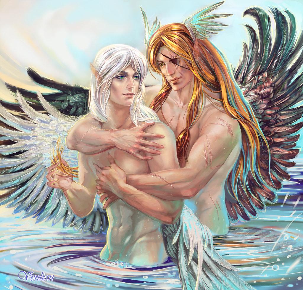 пары ангелов картинки красивые этрусские