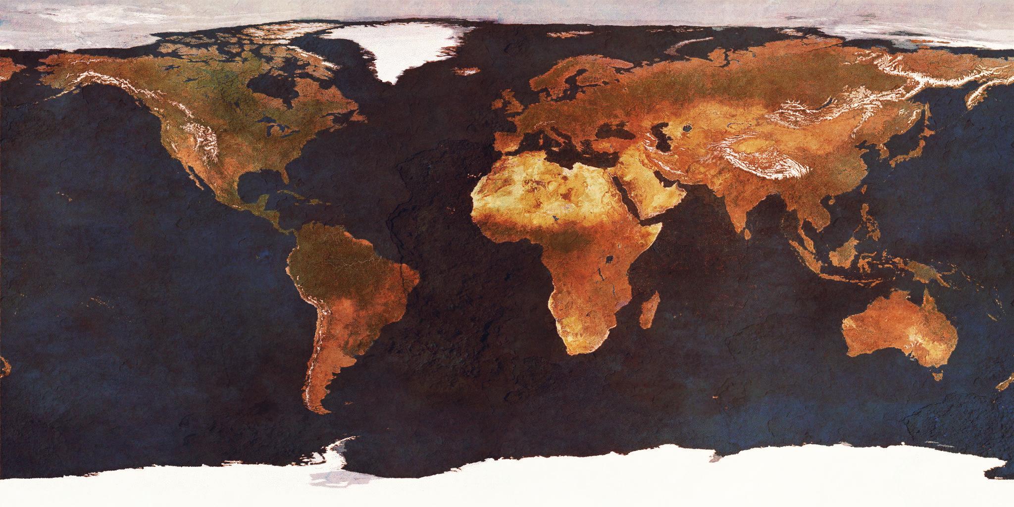 earths surface alb seasonal - HD2048×1024