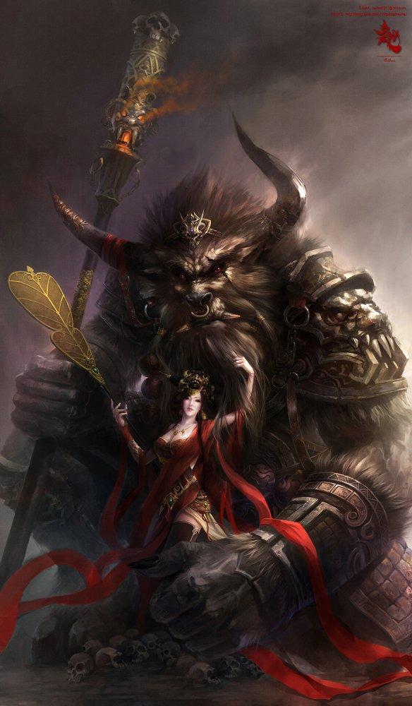 bull devil demon of - photo #2