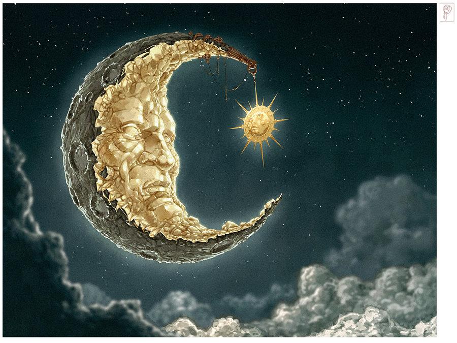 moon and sun - 900×675