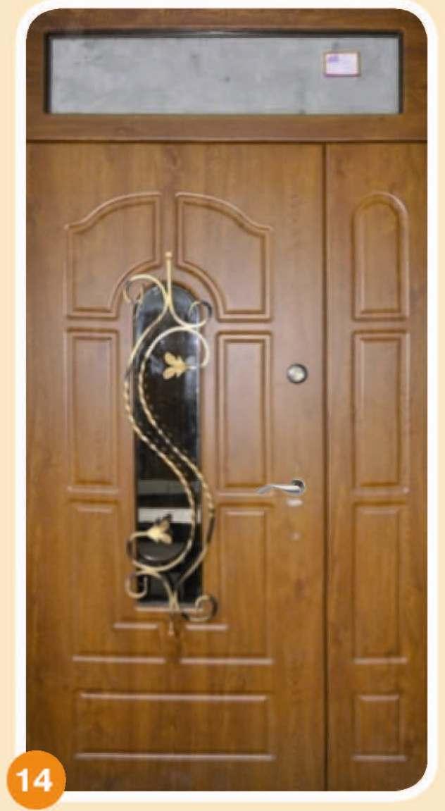 дверь входная со створкой