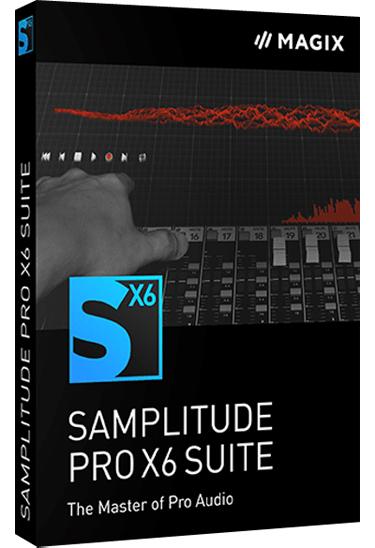 MAGIX Samplitude Pro X6 Suite 17.0.2.21179